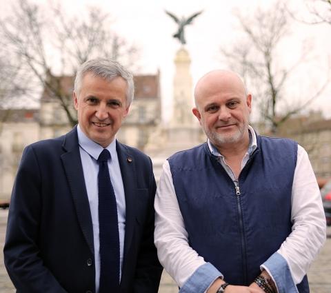 François-Xavier DUGOURD et Yves MARDELAINE