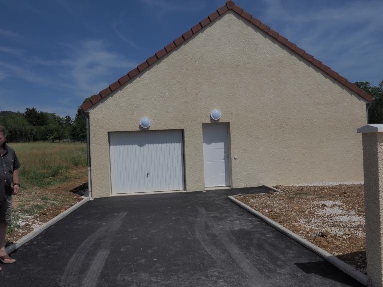 Santenay, maison neuve jumelée, 74, 83m², 342m² de terrain